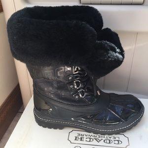 Coach Leonara Waterproof Snow Boots